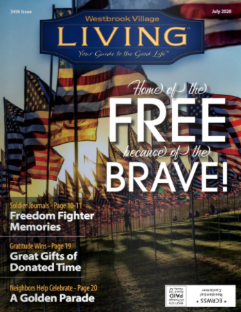 Westbrook Village Living Magazine July 2020